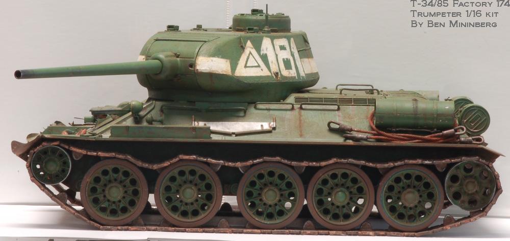 Trumpeter 1 16 T...T 34 Tank Interior