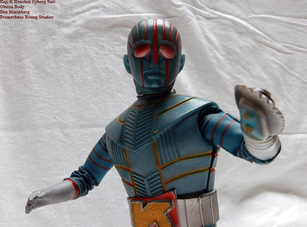 Henshin Cyborg Figures Prometheus Rising Studios