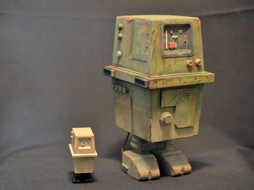 Star Wars 1 6 Scale Gonk Droid 3d Printed Prometheus