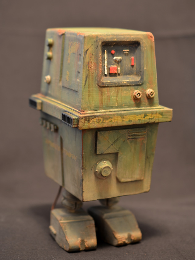 Star Wars 1/6 Scale Gonk Droid 3D Printed | Prometheus ...